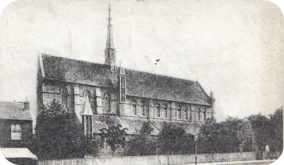 View of the exterior, taken on 19th August 1906.