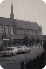 View of the church exterior in 1959